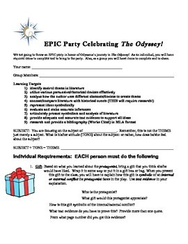 It's an EPIC Party for The Odyssey!
