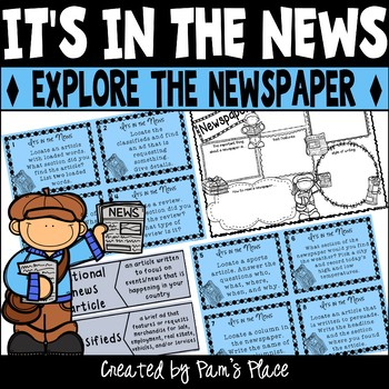 Parts and Sections of a Newspaper Activities