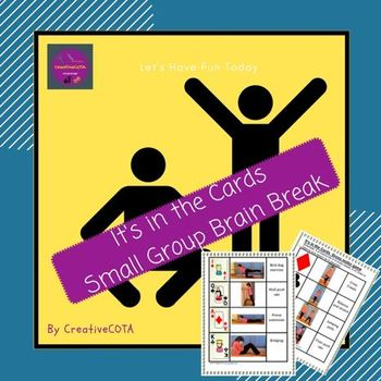 Brain Break: It's in the cards- small group addition