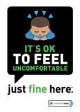 It's okay to feel uncomfortable