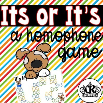 It's or Its Homophone Game