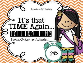 It's that TIME again - Telling Time