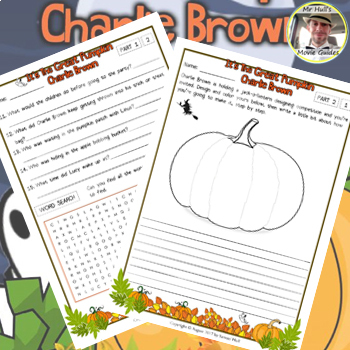 It's the Great Pumpkin, Charlie Brown (1966) - Movie Guide Questions + Extras