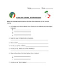 Italy and the Italian Language, a Quick Introduction - Assessment Sheet