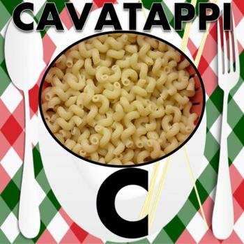 Italian: Alphabet Pasta