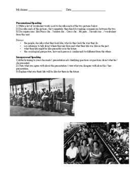 Italian American Experience Reading on Arthur Avenue w Comprehension Questions