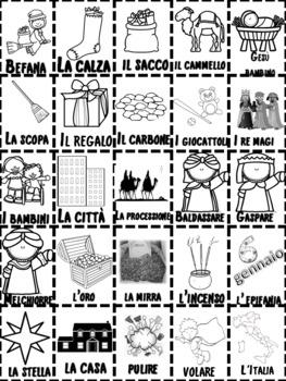 Italian: Befana Tombola