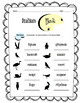 Italian Birds Worksheet Packet