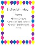 Italian Birthday