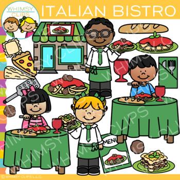 Italian Bistro Clip Art