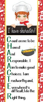 Italian CHEF / COOKING - Classroom Decor: LARGE BANNER, I have character