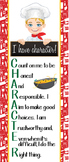 Italian CHEF / COOKING - Classroom Decor: LARGE BANNER, I have character, Kaleb