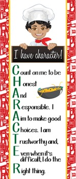 Italian CHEF / COOKING - Classroom Decor: LARGE BANNER, I