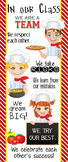 Italian CHEF / COOKING - Classroom Decor: LARGE BANNER, In Our Class