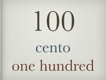 Italian Cardinal Numbers 1 to 100 - Powerpoint Presentation Slideshow