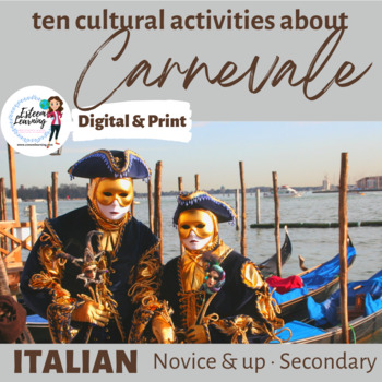 Italian Carnevale - Seven Cultural Writing, Speaking and L
