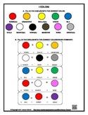 Italian Color Vocabulary Worksheet