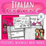 Italian Colors - Colours Posters Booklets and Printables