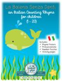 Italian Counting Rhyme: La Balena Senza Denti