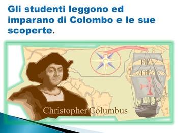 Cristofero Colombo in Italiano