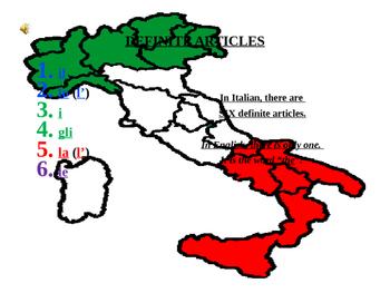 Italian Made Simple: Definite Articles