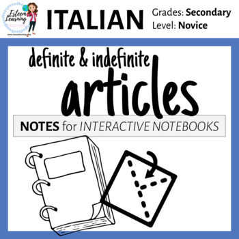 Italian Definite & Indefinite Articles