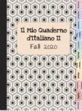 Italian Digital Notebook Level 2 Vocabulary & Grammar Notes
