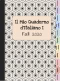 Italian Digital Notebook - Quaderno Virtuale Level 1 Vocabulary and Grammar