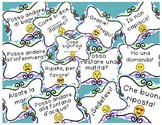 Italian Emoji Classroom Signs