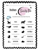 Italian Family Pets Worksheet Packet