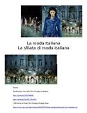 Italian Fashion Unit Word Format /  IPA Performance Assessment