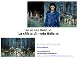 Italian Fashion Unit PPT Format