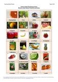 Italian Food Vocabulary-Fruit