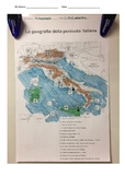 Italian Geography Unit