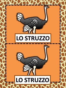 Italian: Gli Animali Selvaggi