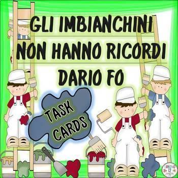 Italian: Gli Imbianchini Non Hanno Ricordi (TASK CARDS)