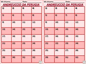 Italian: Andreuccio da Perugia (TASK CARDS)