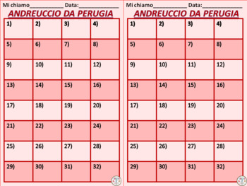 Italian Task Cards: Andreuccio da Perugia