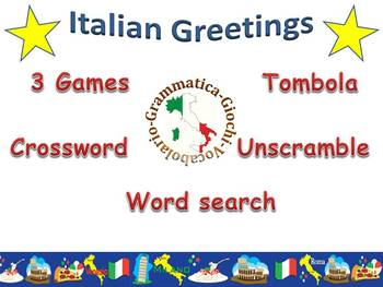 Italian Greetings Bundle