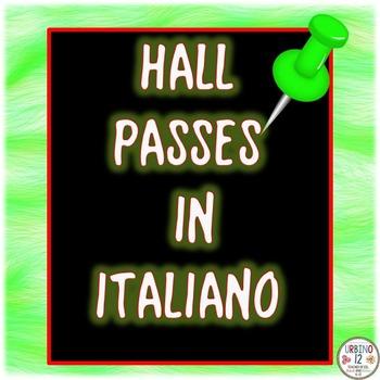 Italian Hall Passes