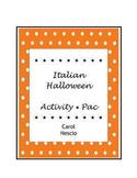 Italian Halloween Activity * Pac