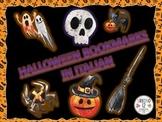 Italian: Spooky Halloween Bookmarks