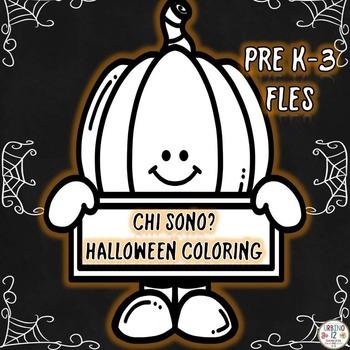 Italian Halloween Coloring