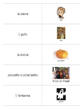 Italian Language Resource Kit: Halloween