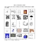 Italian House Furnishings Picture Bingo and Hidden Word Puzzle