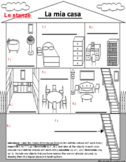Italian House, Furniture, and Household Chores Activities Google Doc