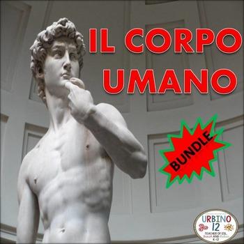 Italian:  Il Corpo Umano  BUNDLE
