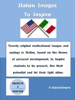 Italian Images To Inspire: motivational images and sayings in Italian