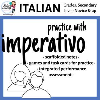Italian Imperative Lesson & Practice