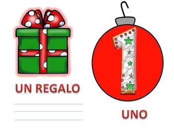 Italian: I Numeri  Per Natale (da 0-10)